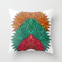 Colour Throw Pillow