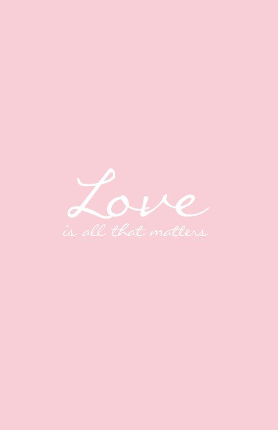 Love is all that matters design Art Print
