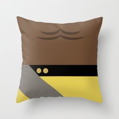 Worf - Minimalist Star T… Throw Pillow