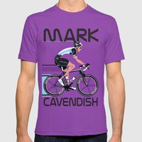 Mark Cavendish Mens Fitted Tee Ultraviolet SMALL