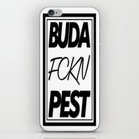 Buda fckn pest iPhone & iPod Skin