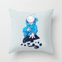 Cryaotic  Throw Pillow