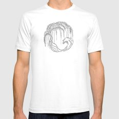 earth tree Mens Fitted Tee SMALL White