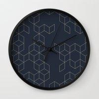 Keziah (Night) Wall Clock