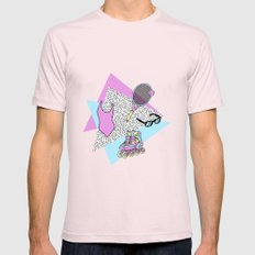 Beach please #1 Mens Fitted Tee Light Pink SMALL