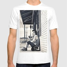 South Tacoma Skater  Mens Fitted Tee White SMALL