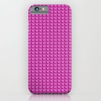 3D Pink Pattern iPhone 6 Slim Case