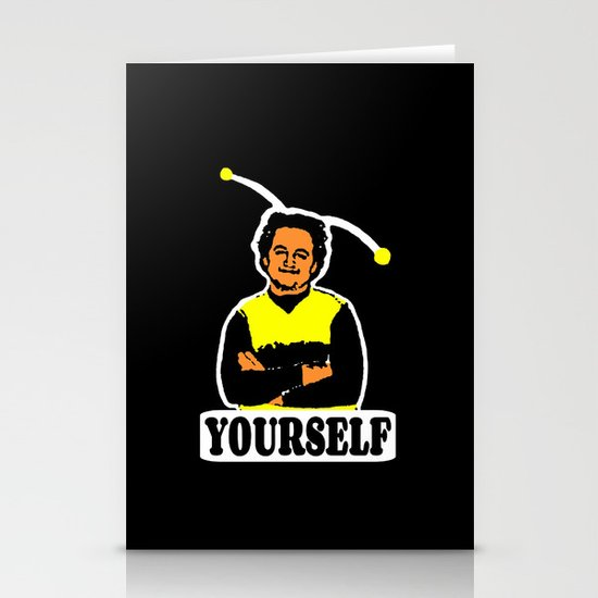 BEE YOURSELF  |  JOHN BELUSHI Stationery Card