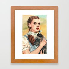I Don't Think We're In Kansas Anymore Framed Art Print