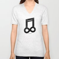 Music Forever Unisex V-Neck