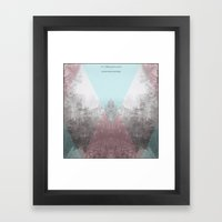 Hilltop Procession (ANAL… Framed Art Print