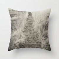 Way Of The Past Throw Pillow