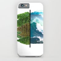 iPhone & iPod Case featuring Tree and Surf by Ellie Craze