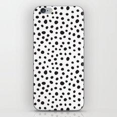 Black Spots  iPhone & iPod Skin
