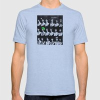 Turning Heads Mens Fitted Tee Athletic Blue SMALL