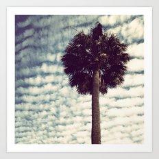 Charleston Palm Art Print