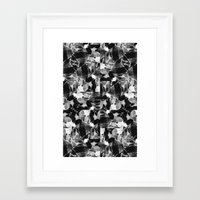 Smplmag Marble Pattern Framed Art Print