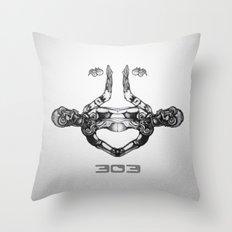 303 Throw Pillow