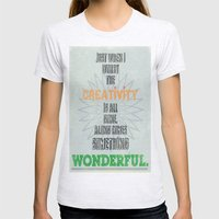 Something Wonderful Womens Fitted Tee Ash Grey SMALL