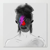 Bowie! Master Of Reinven… Canvas Print
