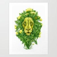 DandyLion Art Print