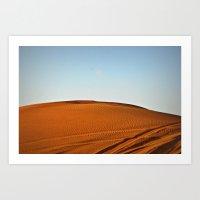 Desert Sands  Art Print