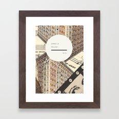 Royal Quote Scramble Framed Art Print