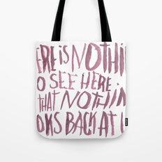 NOTHING Tote Bag
