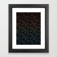 Cube Me Framed Art Print