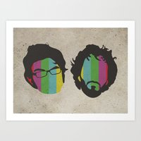 Flight Of The Conchords Art Print