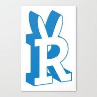 Rabbitguts Logo Canvas Print