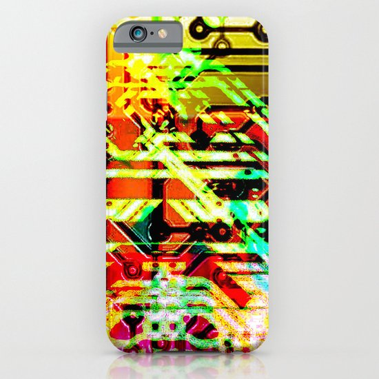 Color circuit iPhone & iPod Case