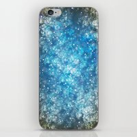 Shimmering Stars iPhone & iPod Skin