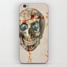 skull#04 iPhone & iPod Skin