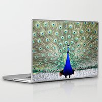 peacock Laptop & iPad Skins featuring Peacock by WhimsyRomance&Fun