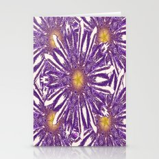 Abstracted Purple-White … Stationery Cards