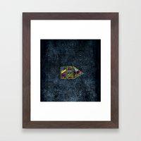 PlayPause Framed Art Print