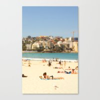Beautiful Bondi Beach Canvas Print