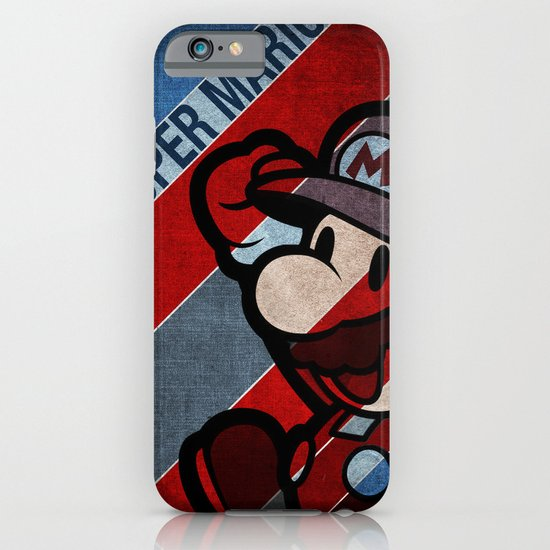 SUPER MARIO iPhone & iPod Case