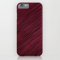 Stripes - Red iPhone 6 Slim Case