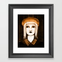 Miss Autumn II Framed Art Print