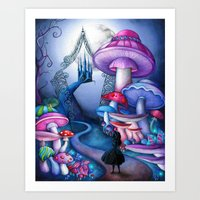 Alice - Gates to Wonderland Art Print