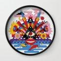 J-pop Wall Clock