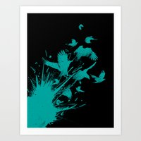 Fragments Art Print