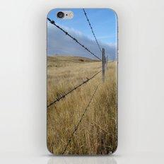 I Love The Prairies iPhone & iPod Skin