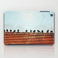 Birds on a Rooftop iPad Case