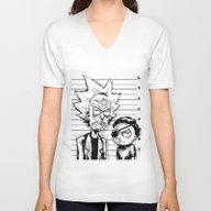 Rick And Morty Unisex V-Neck