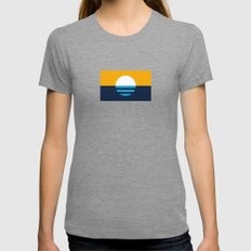 The People's Flag of Milwaukee Womens Fitted Tee Tri-Grey SMALL