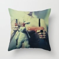 The Bunny Throw Pillow