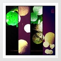 Many Moons 2 Art Print